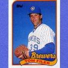 1989 Topps Baseball #419 Tom Filer - Milwaukee Brewers NM-M