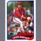 1989 Topps Baseball #409 Ken Dayley - St. Louis Cardinals Ex