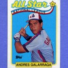 1989 Topps Baseball #386 Andres Galarraga AS - Montreal Expos NM-M