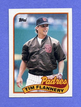 1989 Topps Baseball #379 Tim Flannery - San Diego Padres