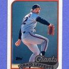 1989 Topps Baseball #372 Criag Lefferts - San Francisco Giants
