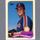 1989 Topps Baseball #362 Jack Lazorko - California Angels ExMt