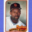 1989 Topps Baseball #353 Marvell Wynne - San Diego Padres