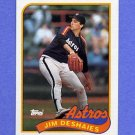 1989 Topps Baseball #341 Jim Deshaies - Houston Astros