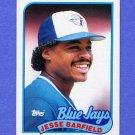 1989 Topps Baseball #325 Jesse Barfield - Toronto Blue Jays