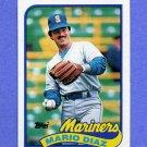 1989 Topps Baseball #309 Mario Diaz - Seattle Mariners
