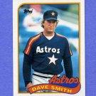 1989 Topps Baseball #305 Dave Smith - Houston Astros