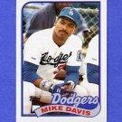 1989 Topps Baseball #277 Mike Davis - Los Angeles Dodgers NM-M