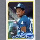 1989 Topps Baseball #275 Danny Tartabull - Kansas City Royals Ex