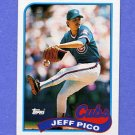 1989 Topps Baseball #262 Jeff Pico - Chicago Cubs