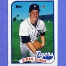 1989 Topps Baseball #238 Eric King - Detroit Tigers