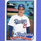 1989 Topps Baseball #232 Ricky Horton - Los Angeles Dodgers