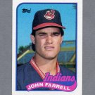 1989 Topps Baseball #227 John Farrell - Cleveland Indians ExMt