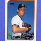 1989 Topps Baseball #217 Joe Price - San Francisco Giants NM-M