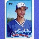 1989 Topps Baseball #203 Rob Ducey - Toronto Blue Jays