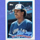1989 Topps Baseball #191 Sil Campusano - Toronto Blue Jays NM-M