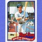 1989 Topps Baseball #155 Marty Barrett - Boston Red Sox