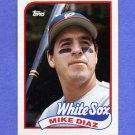 1989 Topps Baseball #142 Mike Diaz - Chicago White Sox NM-M