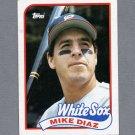 1989 Topps Baseball #142 Mike Diaz - Chicago White Sox Ex