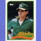 1989 Topps Baseball #102 Mike Gallego - Oakland A's