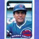 1989 Topps Baseball #066 Manny Trillo - Chicago Cubs