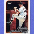1989 Topps Baseball #065 Rick Reuschel - San Francisco Giants