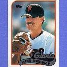1989 Topps Baseball #052 Bob Brenly - San Francisco Giants