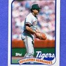 1989 Topps Baseball #043 Guillermo Hernandez - Detroit Tigers