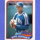 1989 Topps Baseball #030 Dwight Gooden - New York Mets