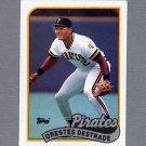 1989 Topps Baseball #027A Orestes Destrade RC - Pittsburgh Pirates Ex