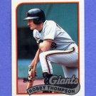 1989 Topps Baseball #015 Robby Thompson - San Francisco Giants NM-M