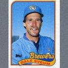 1989 Topps Baseball #012 Dale Sveum - Milwaukee Brewers ExMt