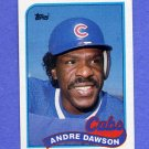 1989 Topps Baseball #010 Andre Dawson - Chicago Cubs