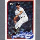 1989 Topps Baseball #008 Dave Eiland - New York Yankees Ex