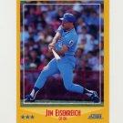 1988 Score Baseball #456 Jim Eisenreich - Kansas City Royals