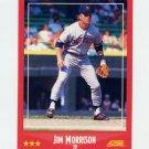 1988 Score Baseball #272 Jim Morrison - Detroit Tigers