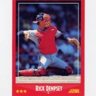 1988 Score Baseball #262 Rick Dempsey - Cleveland Indians
