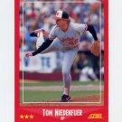 1988 Score Baseball #261B Tom Niedenfuer - Baltimore Orioles
