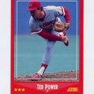 1988 Score Baseball #242 Ted Power - Cincinnati Reds