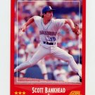 1988 Score Baseball #238 Scott Bankhead - Seattle Mariners