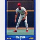 1988 Score Baseball #183 Ron Oester - Cincinnati Reds Ex