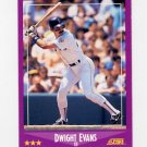 1988 Score Baseball #065 Dwight Evans - Boston Red Sox