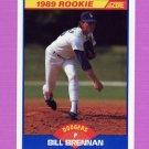 1989 Score Baseball #622 Bill Brennan - Los Angeles Dodgers