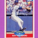 1989 Score Baseball #514 Ray Hayward - Texas Rangers