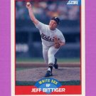 1989 Score Baseball #512 Jeff Bittiger - Chicago White Sox