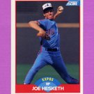 1989 Score Baseball #498 Joe Hesketh - Montreal Expos