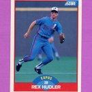 1989 Score Baseball #470 Rex Hudler - Montreal Expos