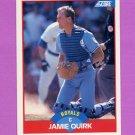 1989 Score Baseball #461 Jamie Quirk - Kansas City Royals