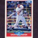 1989 Score Baseball #455 Dave Gallagher - Chicago White Sox Ex