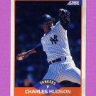 1989 Score Baseball #415 Charles Hudson - New York Yankees